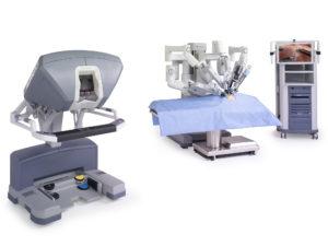 Компоненты хирургического комплекса Da Vinci SI